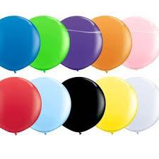 Grosse runde Jumbo Ballons, 60cm