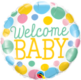 Welcome Baby Dots_