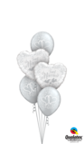 Just Married Entwined Hearts_