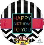 "Geburtstag Singing ""Happy Birthday to You""_"