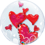 Lovely Floating Hearts_