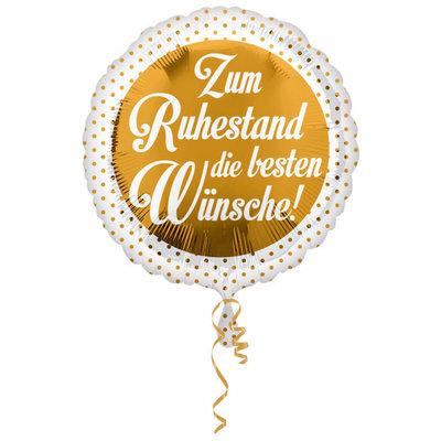 Zum Ruhestand die besten Wünsche