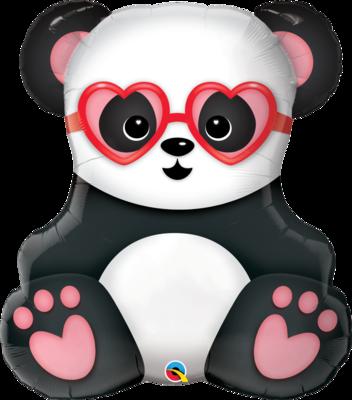Panda Bär mit Herz