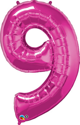 Folienballon Zahl