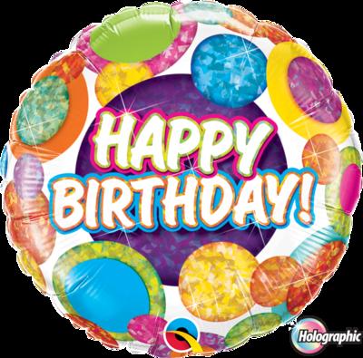 Happy Birthday Big Dots & Glitz