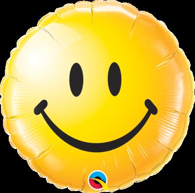 Smiley gelb