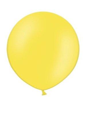 Rundballon Jumbo, 60cm, gelb