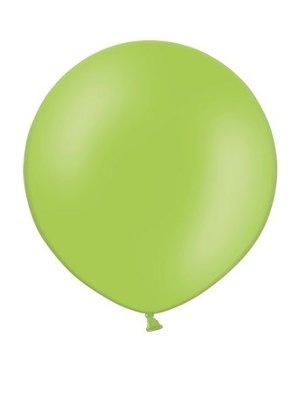 Rundballon Jumbo, 60cm, hellgrün
