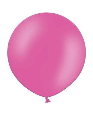 Rundballon Mega, 90cm, pink