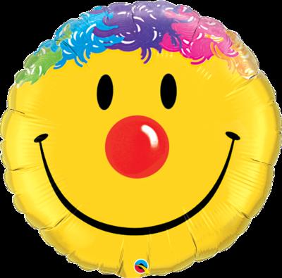 Riesen Smiley Clown