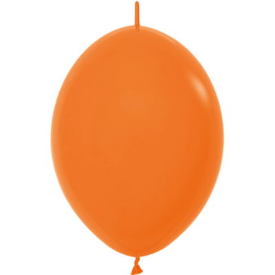 Kettenballon, 30cm, orange