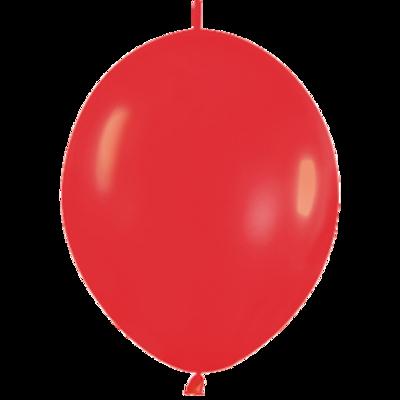 Kettenballon, 30cm, rot