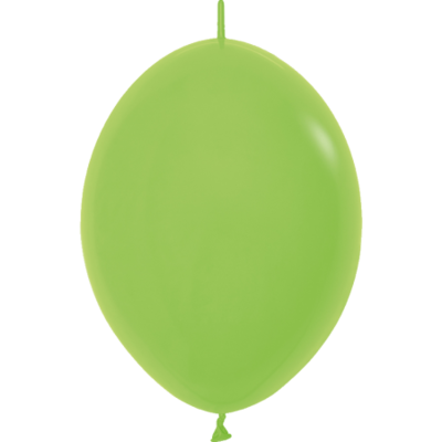 Kettenballon, 30cm, hellgrün