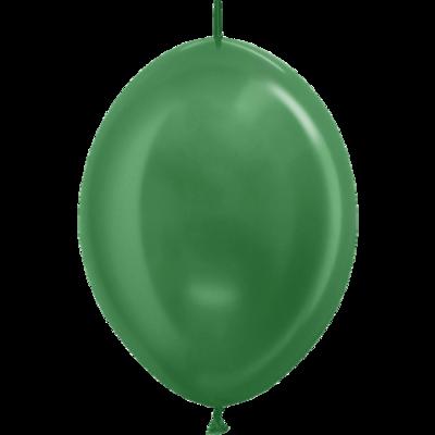 Kettenballon, 30cm, dunkelgrün