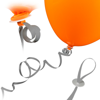 Ballonband silber