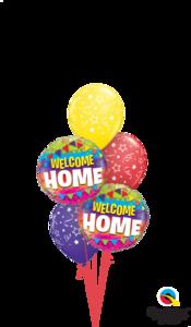"""Ballonbouquet """"Welcome Home"""""""