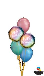 Colorful Chrome Birthday