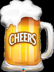 """Bierkrug """"Cheers"""""""